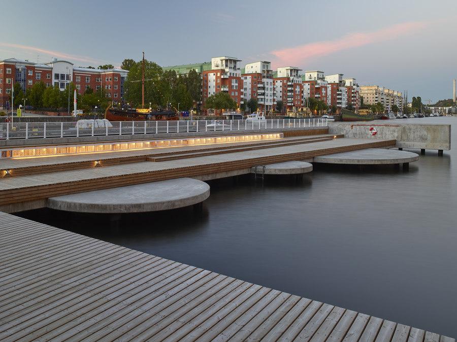 Fredriksdalskajen by Nivå Landskapsarkitektur | Parks