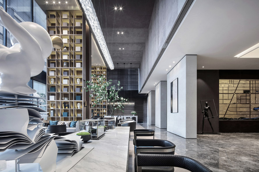 Xi'an VANKE · RUYUAN Sales Center by ONE-CU Interior Design Lab | Shopping centres
