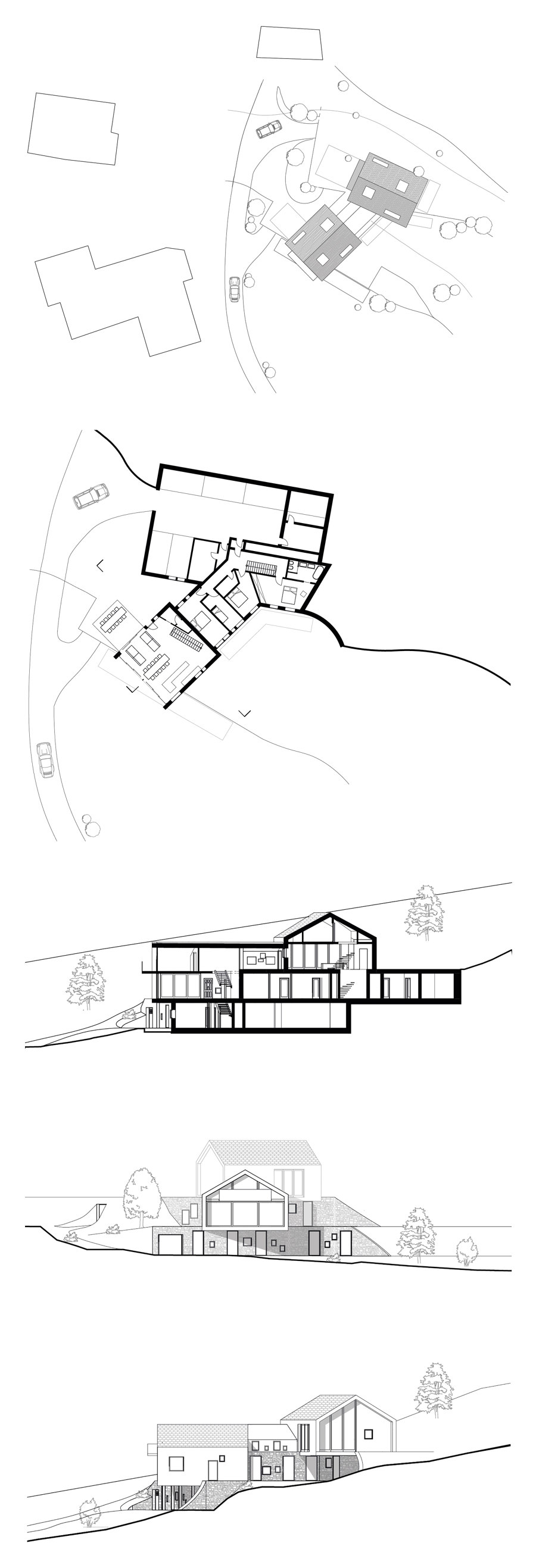 Am Steinbruch by noa* network of architecture | Detached houses