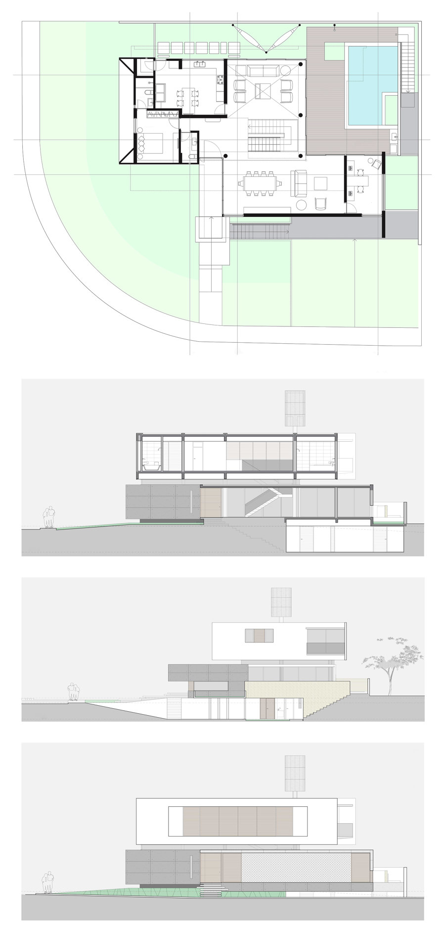 IF House by Martins Lucena Architects | Detached houses