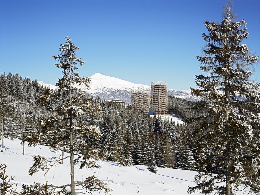 Mountain Residence Tower by Matteo Thun & Partners | Apartment blocks