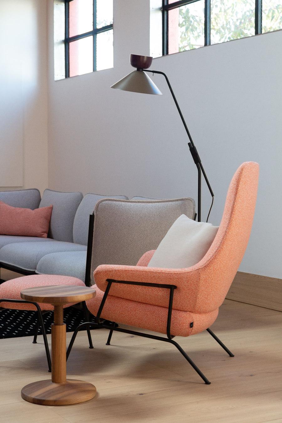 Hem's First US Showroom by Hem Design Studio | Office facilities