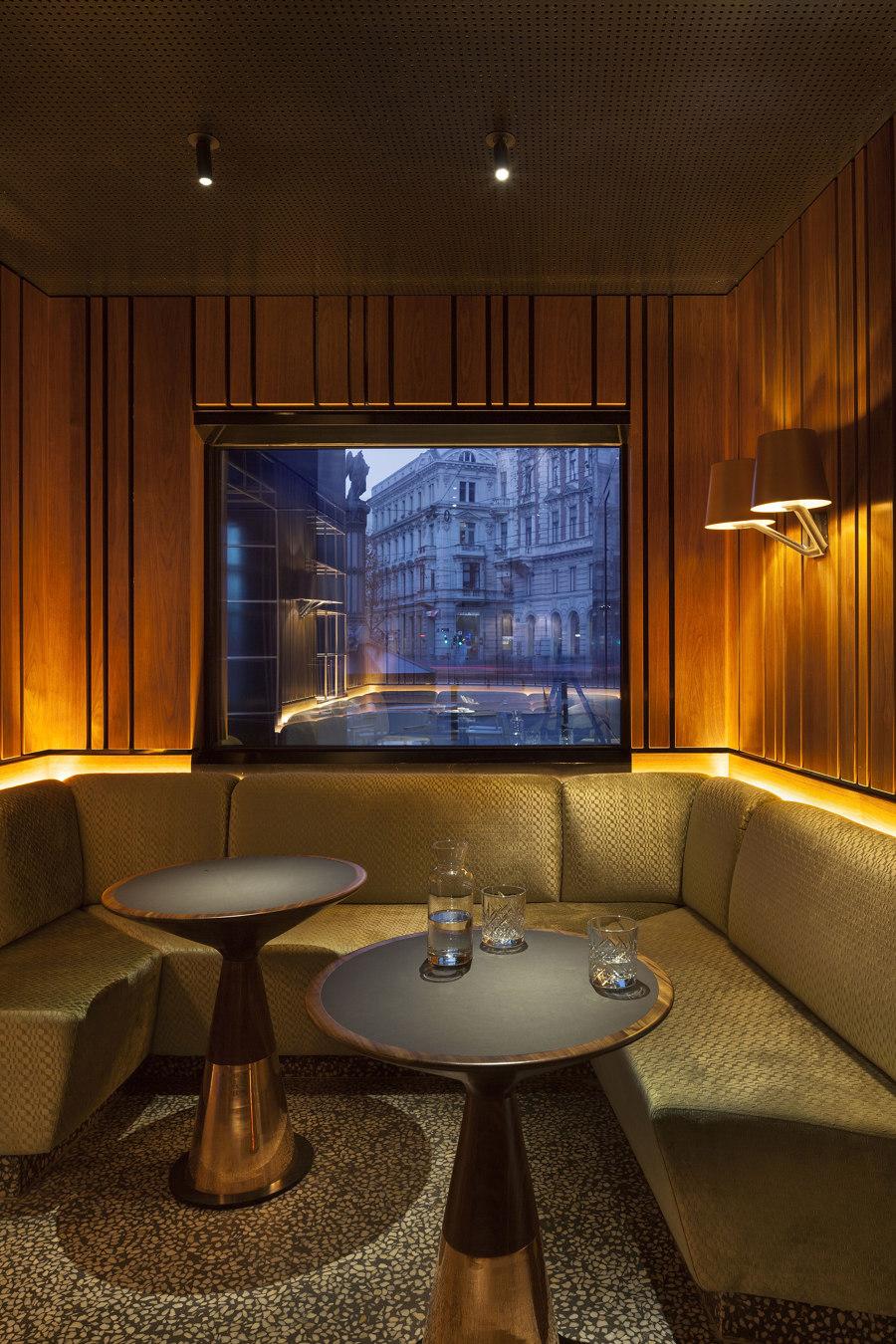 Hotel DAS TRIEST, PORTO Bar by BEHF Architects | Café interiors