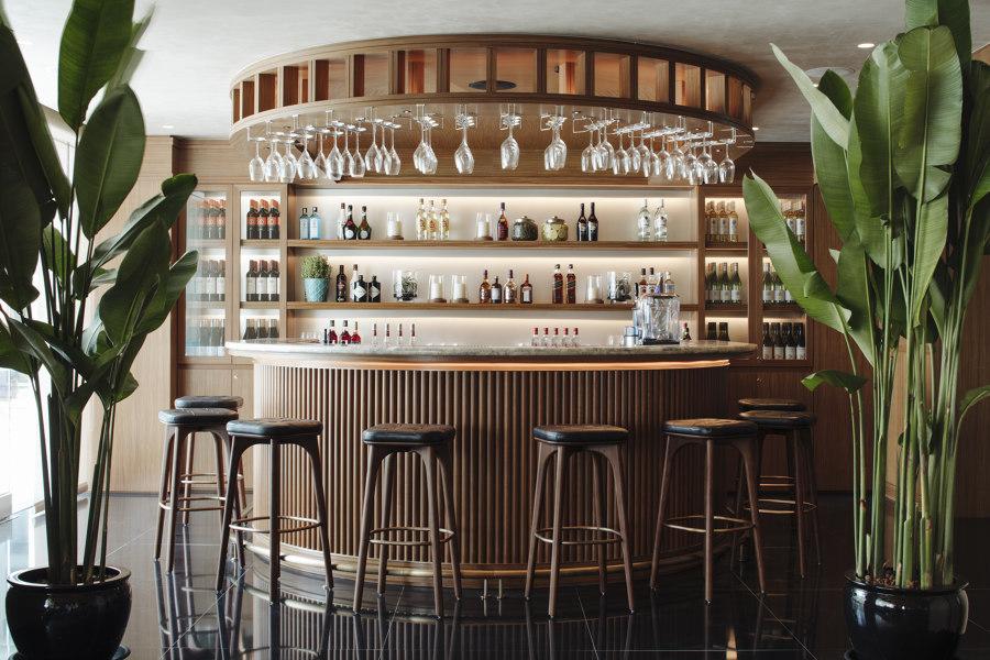 Pool Lounge, Spa & Gym, Conrad Centennial Singapore by Brewin Design Office | Café interiors