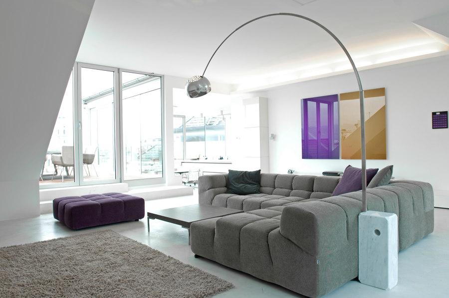 Penthouse S von destilat | Wohnräume