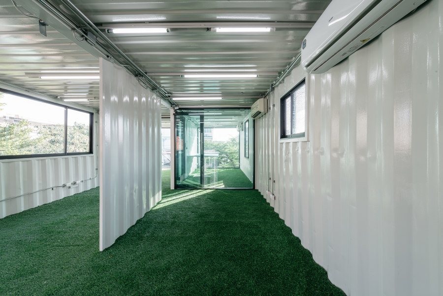 Muangthongthani Carcare by Archimontage Design Fields Sophisticated   Office buildings