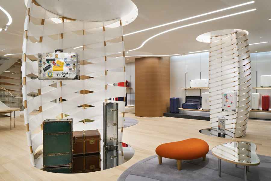 Rimowa Flagship Store in Tokyo by Labvert | Shop interiors