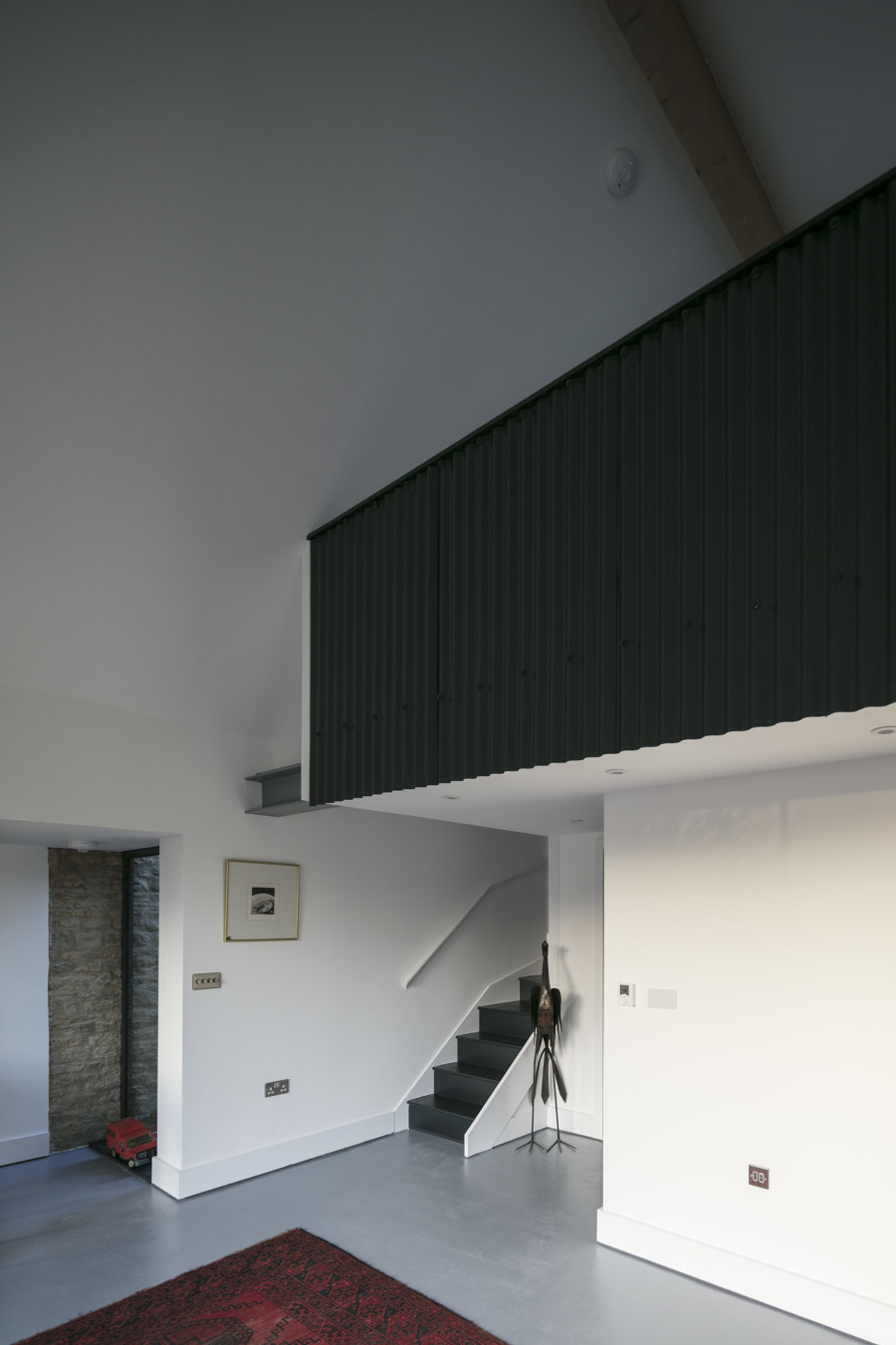 Corrugated metal extension by Eastabrook Architects | Detached houses