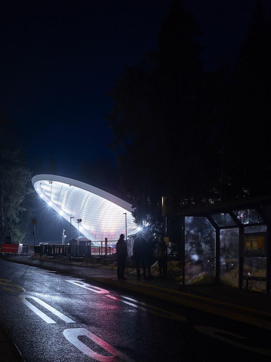 "Ice Stadium ""Arena Schierke"" by Graft | Sports facilities"