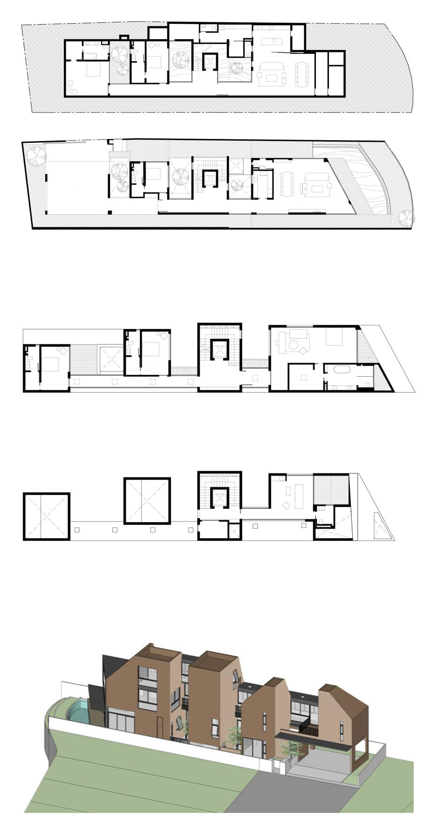 PROJECT #3 by Studio Wills + Architects | Detached houses