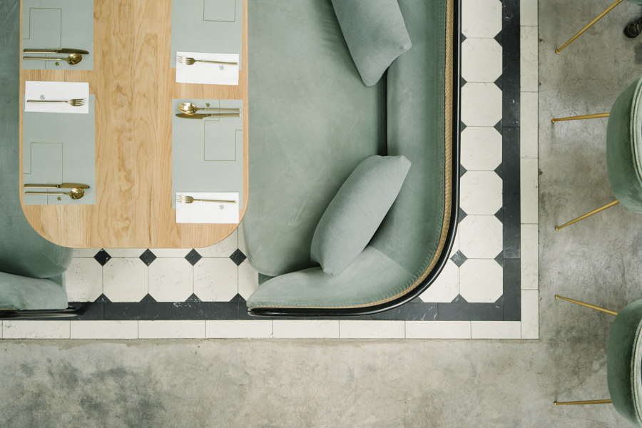 Harlan+Holden Glasshouse cafe by GamFratesi | Café interiors
