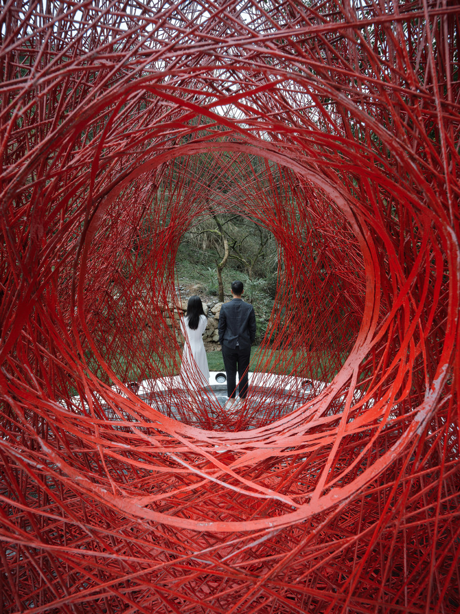 Shrine of Whatslove by Wutopia Lab | Installations