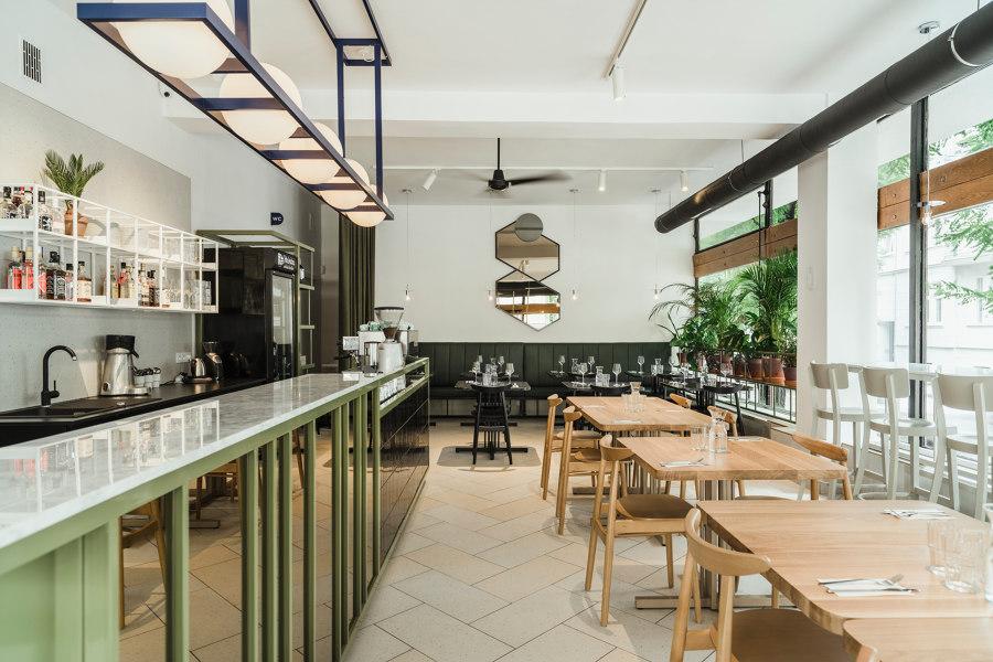 Yeżyce Kuchnia von wiercinski-studio | Restaurant-Interieurs