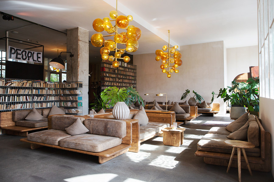 Michelberger Hotel by Sigurd Larsen | Hotel interiors