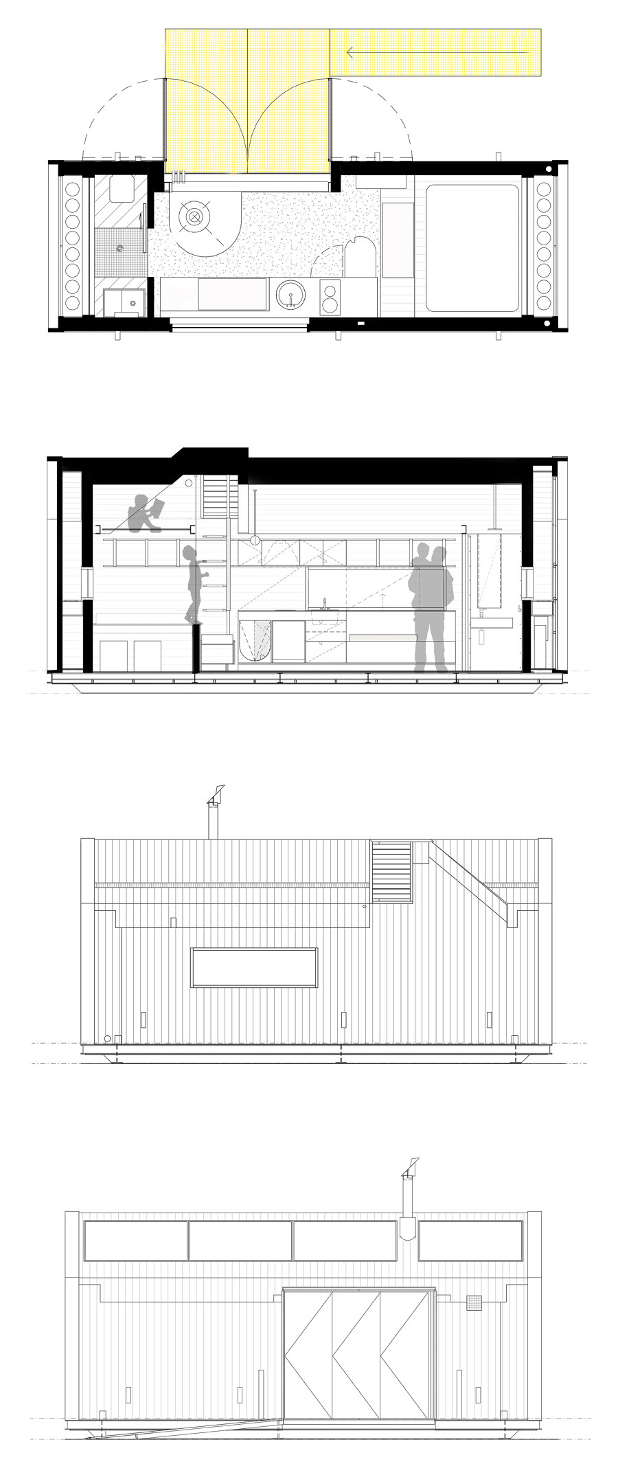 Tiny Home by Maddison Architects   Detached houses