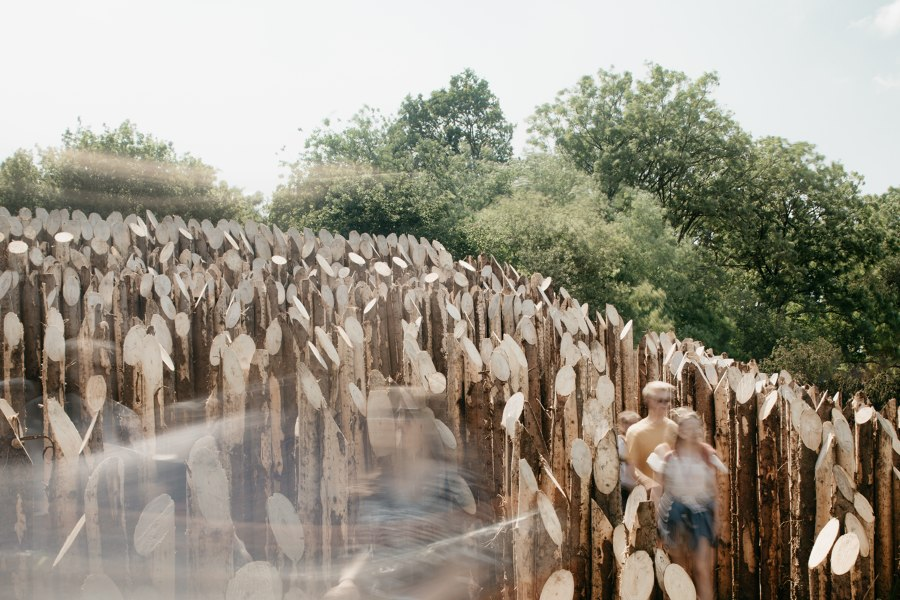 BEAM at Glastonbury Festival 2019 by Wolfgang Buttress | Installations
