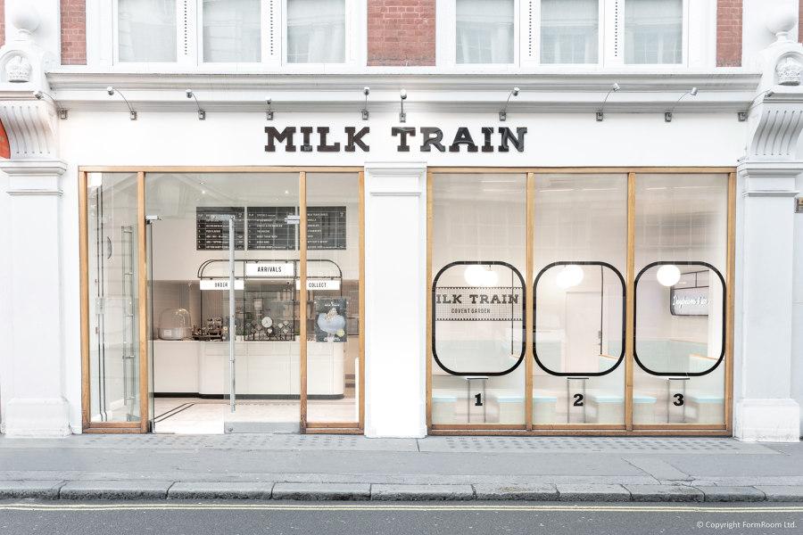Milk Train by FormRoom | Café interiors