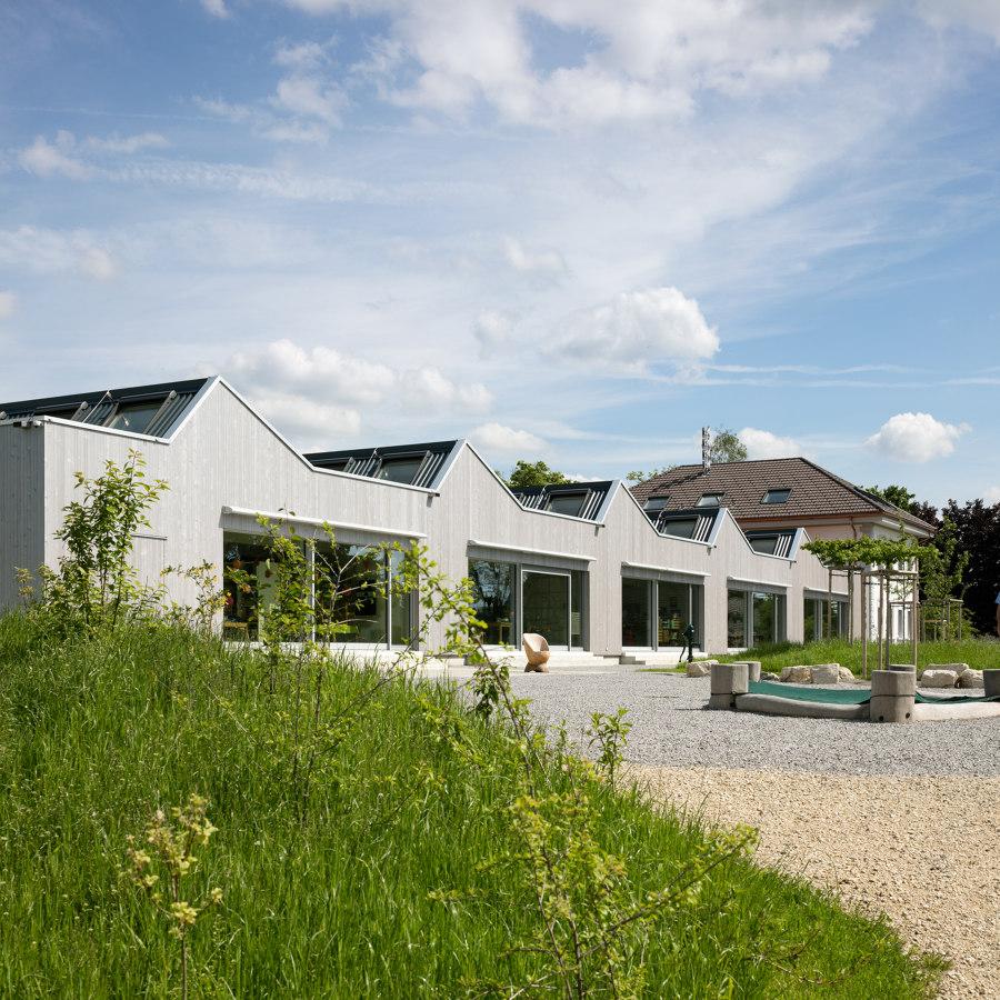 School Obergerlafingen by bauzeit architekten   Schools