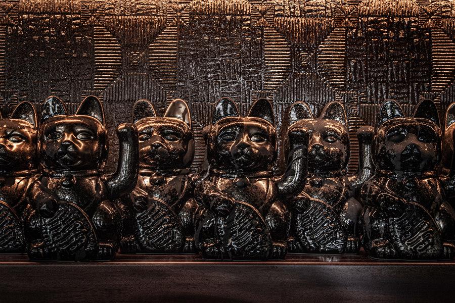 Lucky Cat by Gordon Ramsay di Afroditi Krassa | Ristoranti - Interni