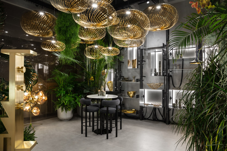 The Manzoni restaurant in Milan by Tom Dixon | Restaurant interiors