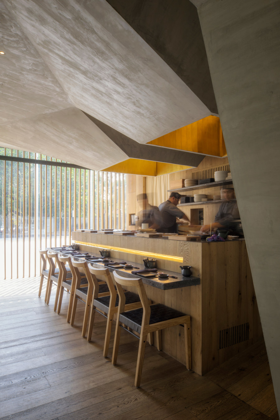 Oku Restaurant by Michan Architecture   Restaurant interiors