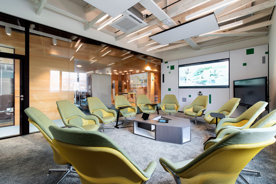 Digital Transformation Centre of Schaeffler by Evolution Design | Office facilities
