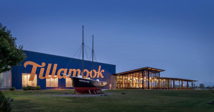 Tillamook Creamery by Olson Kundig | Industrial buildings