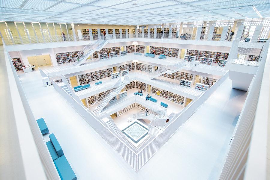 Bibliothek Stuttgart von PANDOMO | Herstellerreferenzen