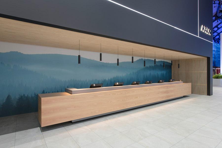 ArsRatio floor system AR18 for the Hansgrohe Group at the ISH von ArsRatio | Herstellerreferenzen