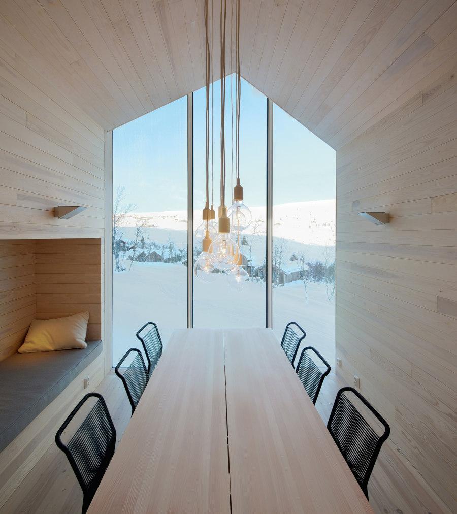 Split View Mountain Lodge by Reiulf Ramstad Arkitekter | Detached houses