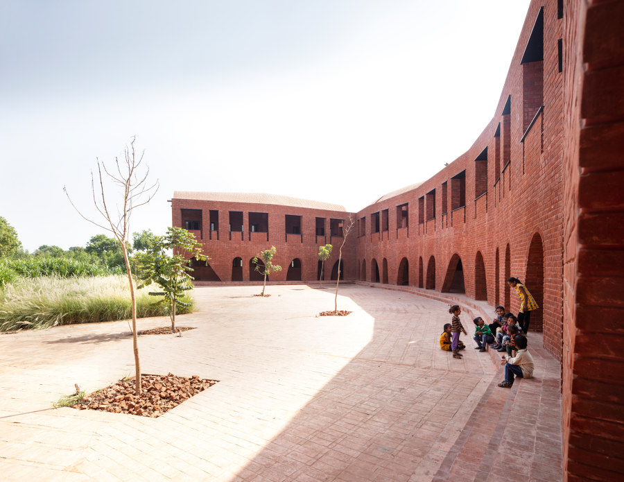 School of Dancing Arches by Samira Rathod Design Associates | Schools