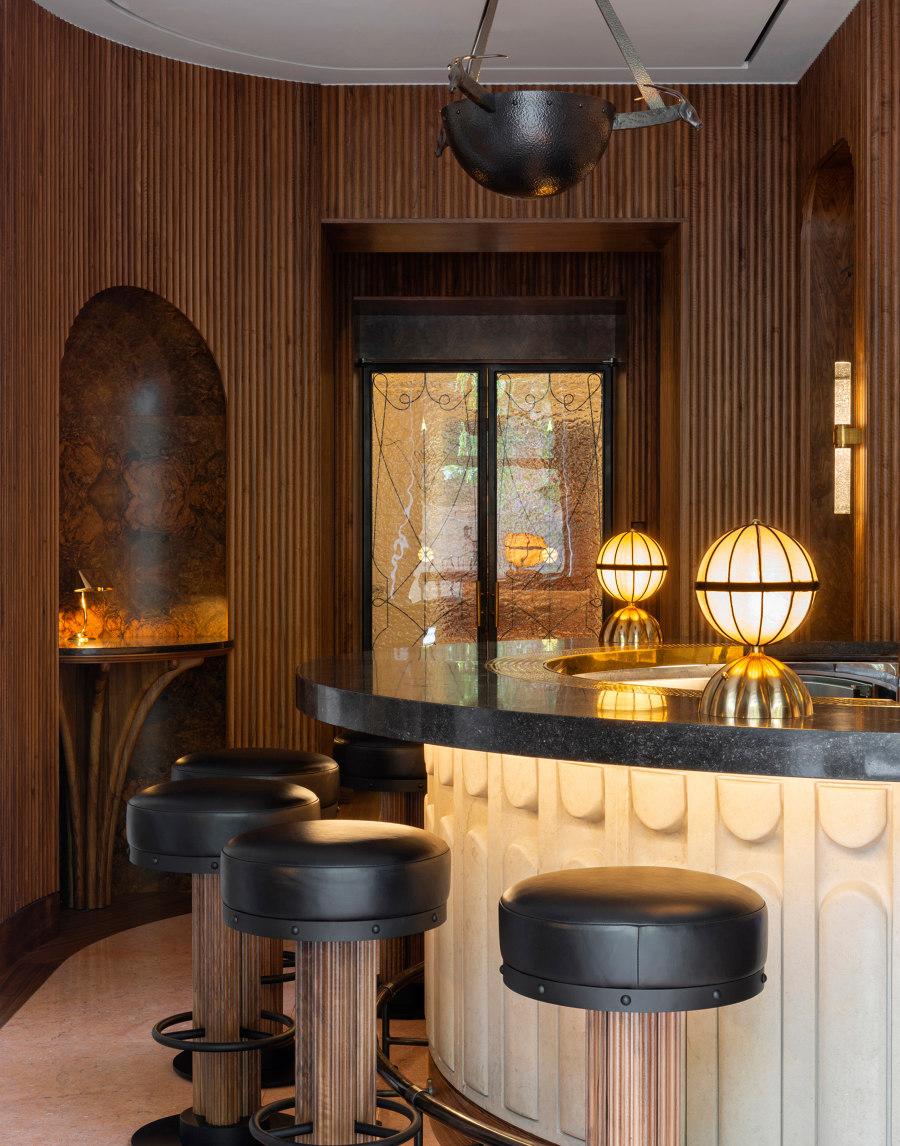 The Berkeley Bar and Terrace by Bryan O'Sullivan Studio | Bar interiors