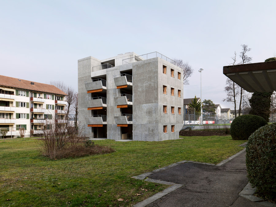 Affordable Housing in Zurich von Sky-Frame | Herstellerreferenzen