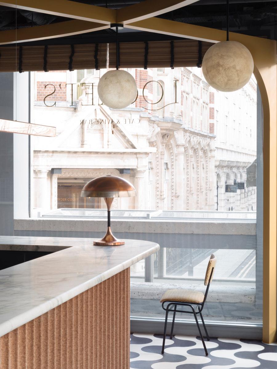 Locket's by Fran Hickman | Café interiors