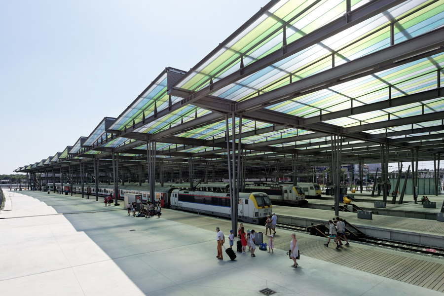Oostende Station by Dietmar Feichtinger Architectes | Infrastructure buildings