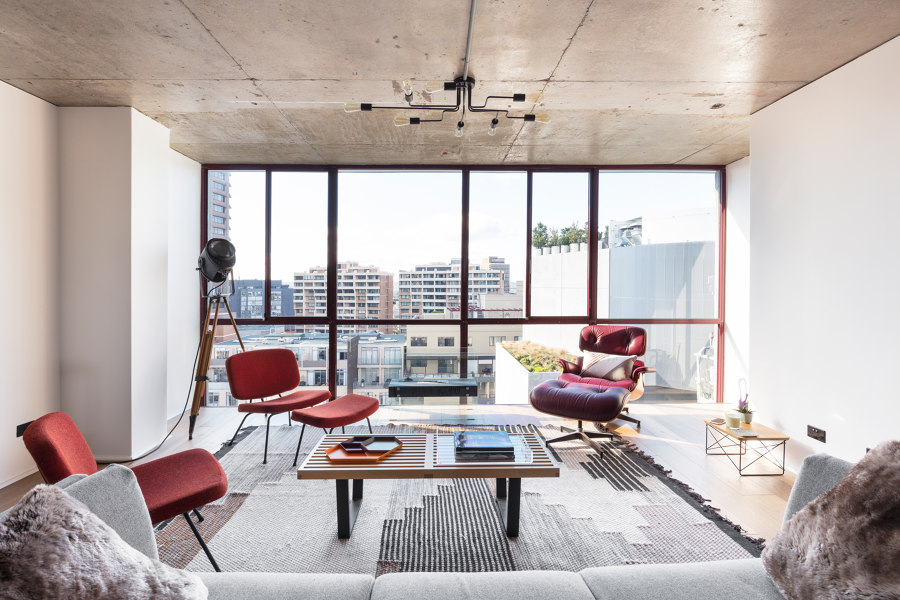 Penthouse18 by Stukel Architecture | Living space