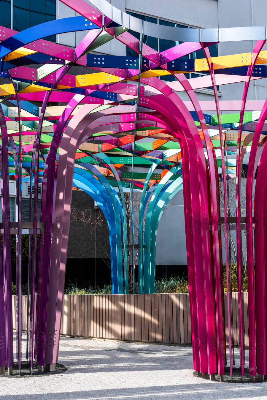 Spectral Grove by SOFTlab | Installations