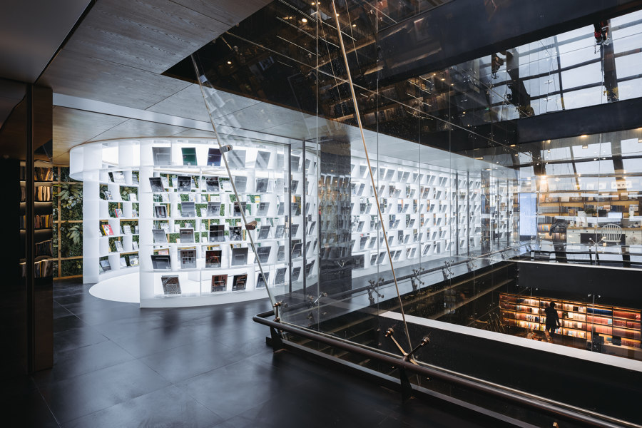 Hubei Foreign Language Bookstore by Wutopia Lab   Shops