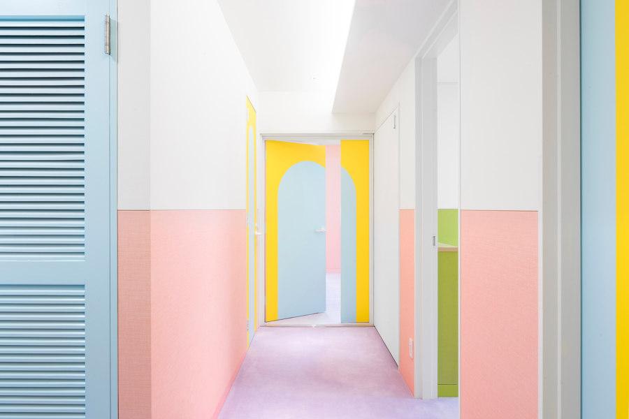Nagatachō Apartment by Atelier Adam Nathaniel Furman | Living space