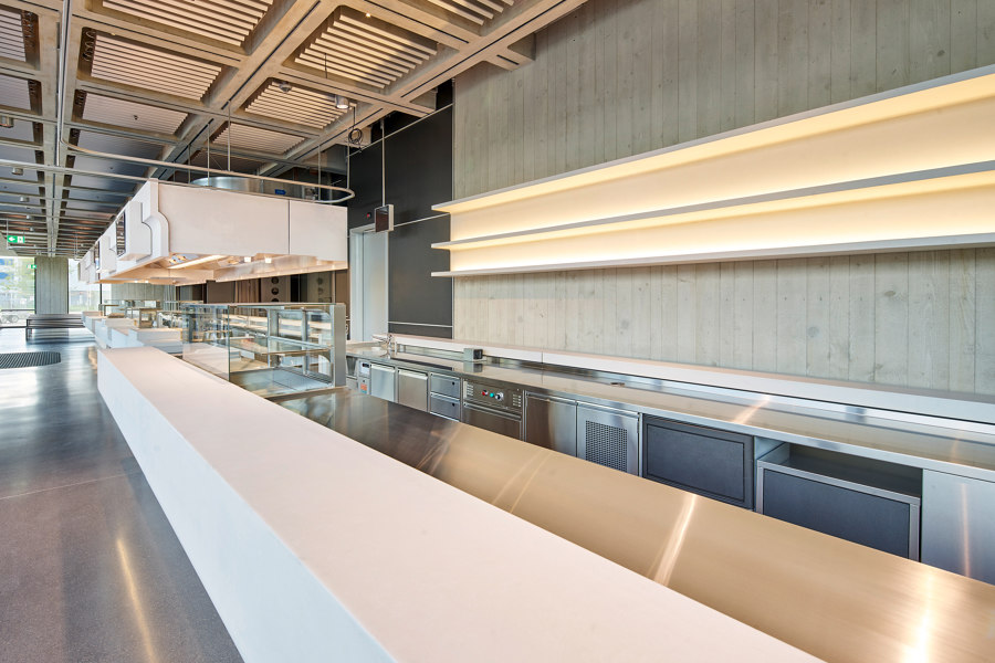 DEMANDING DADE DESIGN PROJECT FOR THE SRF - SWISS RADIO AND TELEVISION by Dade Design AG concrete works Beton   Manufacturer references