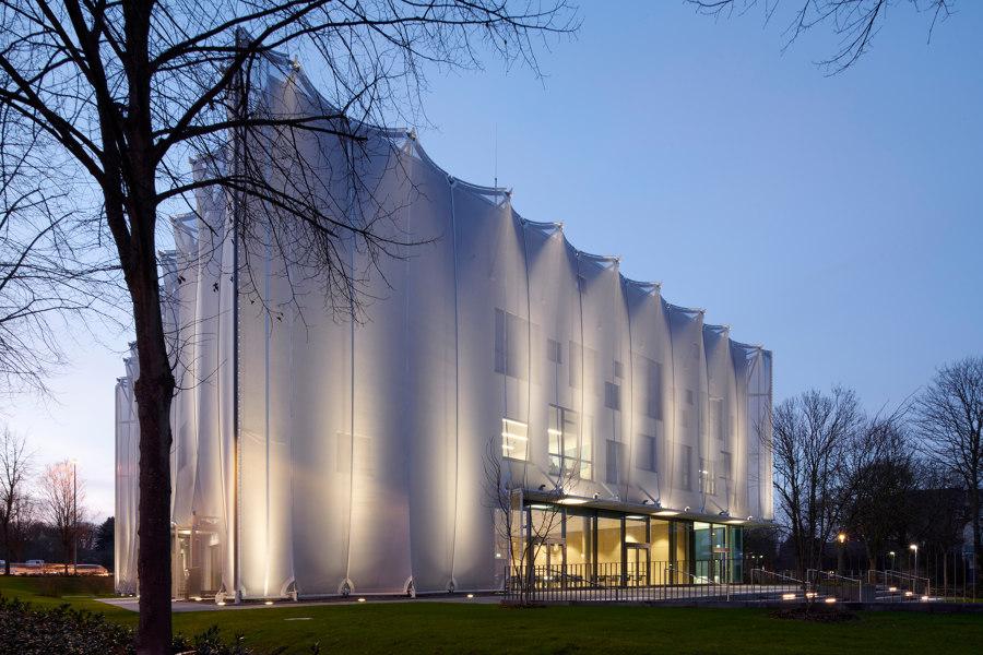 Textile Academy NRW by slapa oberholz pszczulny   sop architekten   Universities