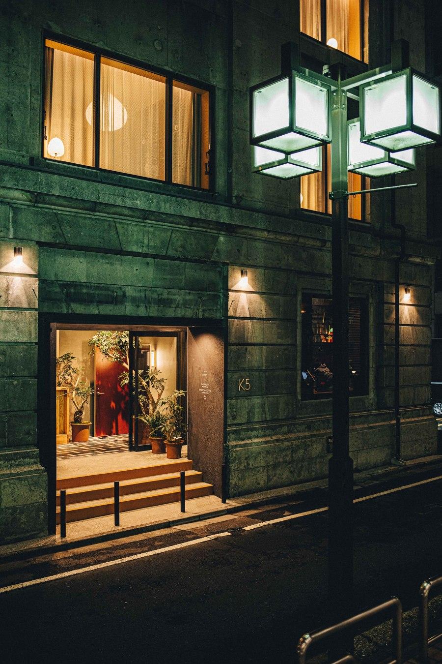 K5 Tokyo by Claesson Koivisto Rune   Hotel interiors