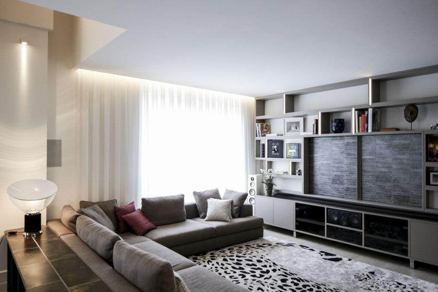 Bramante House by LAI STUDIO, Maurizio Lai | Living space