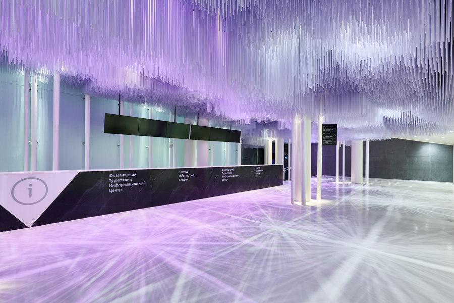 Media Center in Zaryadye Park by QPRO | Installations