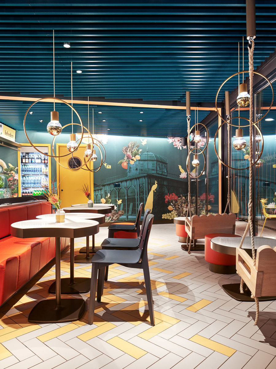 Caffè Belvedere by Ippolito Fleitz Group   Café interiors