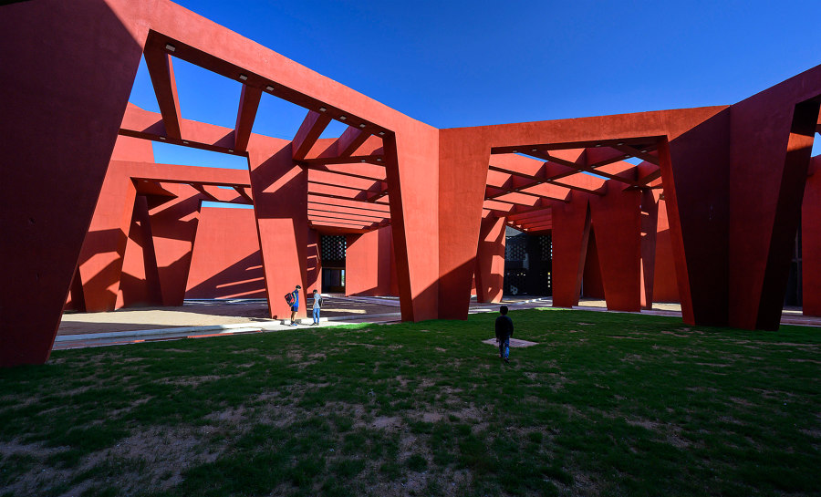 The Rajasthan School by Sanjay Puri Architects   Schools