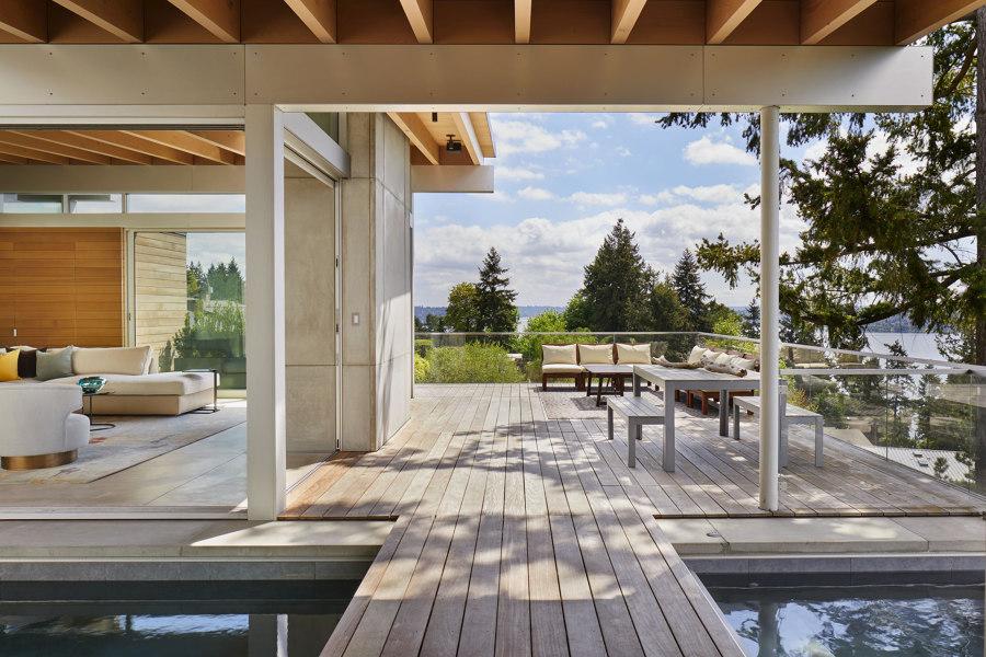 Mercer Island Modern by Garret Cord Werner   Living space