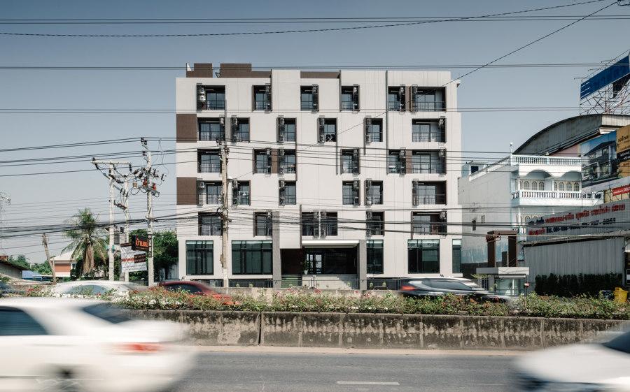 Latkrabang Apartment by Archimontage Design Fields Sophisticated | Apartment blocks