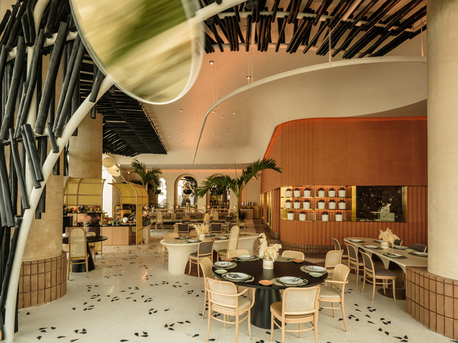 Dar Hamad Restaurant by Mondo Marmo Design | Manufacturer references