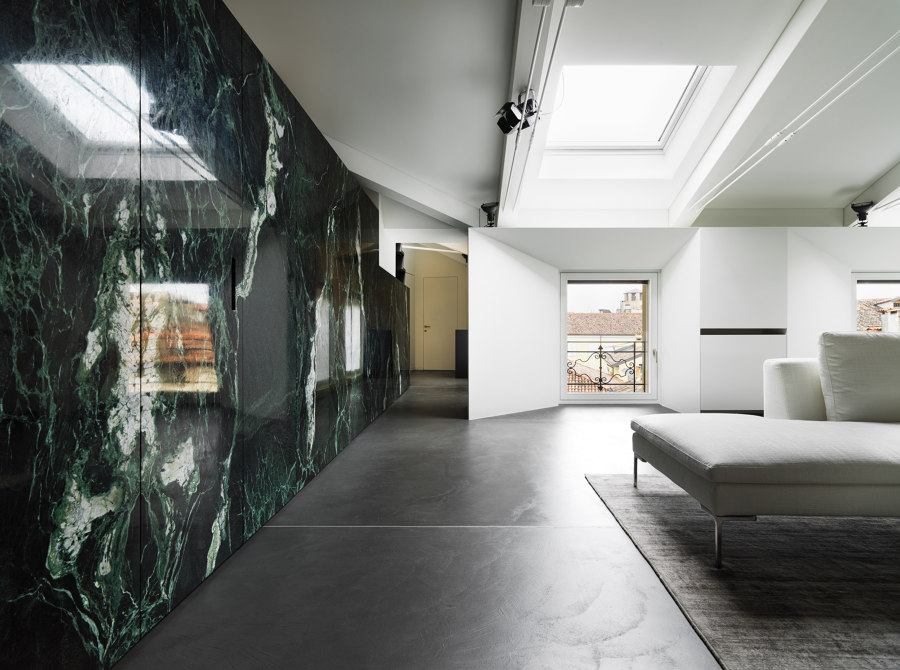 DLN Penthouse by GEZA Gri e Zucchi Architettura   Living space